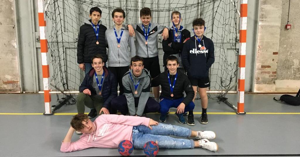 Des médailles pour nos handballeurs