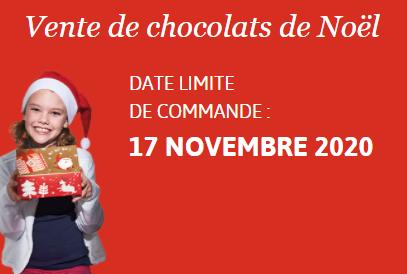 Action FSE : vente de chocolat